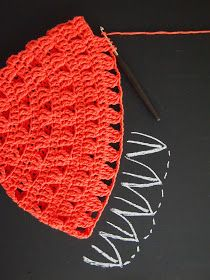 omⒶ KOPPA: Virkattu kesä(lieri)hattu Easy Crochet Stitches, Bandana, Crochet Hats, Knitting, Crafts, Accessories, Hooks, Crocheting, Tejidos