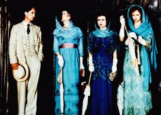 THE WINGS OF THE DOVE, from left: Linus Roache, Elizabeth McGovern, Helena Bonham Carter, Allison Elliott, 1997, © Miramax
