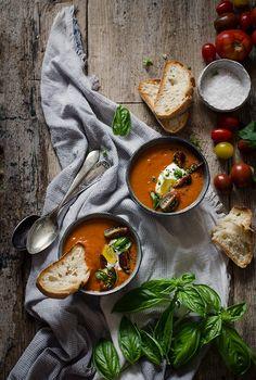 Sabores y Momentos   Sopa de tomates asados   http://saboresymomentos.es