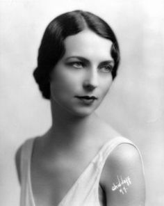 "Young Agnes Moorehead, 1920s    This beautiful lady become a very famous actress.  In the 1960's she was Samatha's mother in the TV show ""Bewitched"""