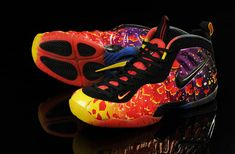 half off 68c60 4916e Nike Air Foamposite Pro Asteroid Hot Red Laser Purple Tour Yellow 646750 600  Cheap Nike,