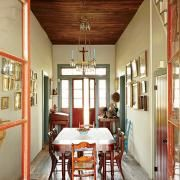 Love this old antebellum creole cottage that he brought back to life!