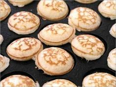Little Dutch Pancakes (Poffertjes) - Thermomix Conversion and Without A Perfottje Pan
