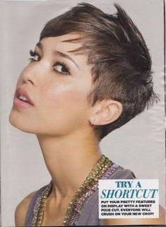 Pixie Cut by angelina