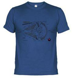 Camisetas Star Wars Halcon #starwars #camiseta http://www.latostadora.com/emcmasquecamisetas