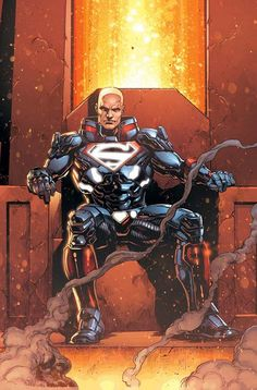 Is LEX LUTHOR the DC REBIRTH's SUPER-MAN? New JUSTICE LEAGUE Images | Newsarama.com
