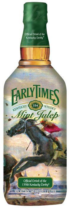 Early times special Kentucky Derby bottle!