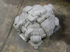 Starcraft II Terran Command Center WIP II by zanderwitaz