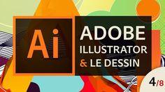 Adobe Illustrator - Apprendre à dessiner (4/8) - La vectorisation d'images