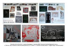 """""""Versilia terra di artisti"""", lavoro di gruppo, 1° premio XXXI Concorso Confartigianato Lucca, cl. 5B sez. Scultura e decorazione plastica, a.s. 2010/11. Istituto Statale d'Arte """"Stagio Stagi"""" di Pietrasanta."""