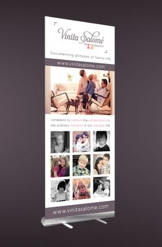 Pop Up Banner Design Ideas Roll Up Banner For Vinita Salome Photography To Be Seen Live At The