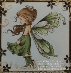 Sliver Fairy from Wee Stamps