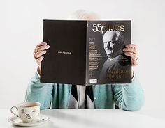 is a new high quality Norwegian magazine targeting seniors. Focusing on culture, society, literature and art, it wish to offer something fresh and different to its audience. With soulful photography combined with intriguing stories by well renowne… New Work, Literature, Typography, Magazine, Editorial, Behance, Logo, Gallery, Check