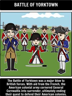 American Revolution - Students can track the American Revolution battles by creating a timeline using Storyboard That!