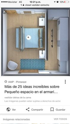Ich mag die Idee einer Wand, die den Zugang zum Schlafzimmer trennt, anstatt … I like the idea of ​​a wall that separates access to the bedroom rather than … – of Bedroom Closet Design, Home Room Design, Closet Designs, Wardrobe Behind Bed, Bedroom Wardrobe, Garage Bedroom, Furniture Layout, Bedroom Furniture, Furniture Ideas