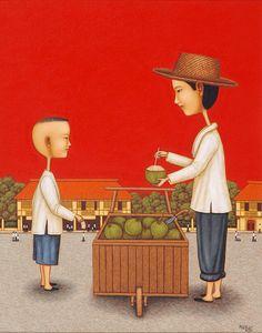 Dominic Rubio, coconut