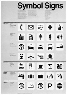 Symbol Signs by Roger Cook and Don Shanosky (1974)