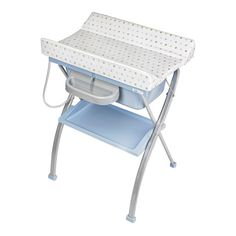 Bañera/Cambiador bbest Plegable Lindo azul Baby Doll Toys, Newborn Baby Dolls, Vanity Bench, Chair, Furniture, Mother Care, Fotos Ideas, Home Decor, Smoothies