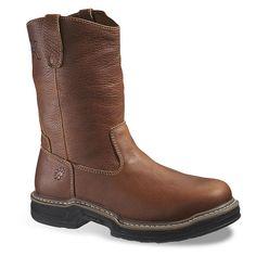 Wolverine Raider Wellington Men's 10-in. Work Boots, Size: medium (10.5), Brown