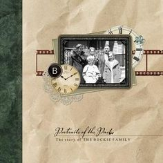 Forever Vintage Memories 12 x 12 History Book   Created exclusively for use in Forever Artisan software, this vintage-inspired 12 x 12 (or 8 x 8) pre-designed, fully customizable book template is perfect for showcasing your detailed family history and photos. This template includes 1 cover and 26 page layouts with lots of space for your written family genealogy and can be used to create a book or separate page prints. To extend your papers, embellishments, and word art, look to the…