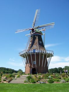 Great memories of the grade school field trip we took to Holland, Michigan.  This windmill that had been brought over from the Netherlands piqued my interest in travelling and I was lucky to actually live in Europe years later.