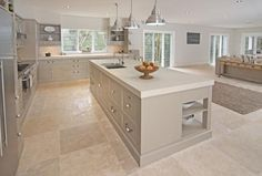 Kitchen Design Ideas by Designing Women Grey a refreshing change from all-white!