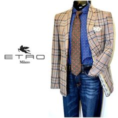 Make a statement at the office with this Etro sport coat, Coruzzi shirt with Geoff Nicholson tie, Joe's Jeans and Leyva belt! Only at Flip!  To purchase, call (615) 256-3547. We ship! Featured items: Etro sport coat (40R) New With Tag price $1595 Flip price $598, Coruzzi shirt (M) $98, Geoff Nicholson tie $38, Joe's Jeans jeans (32) $78, Leyva belt (36) $34 - #nashville #flipnashville #consignment #menswear #designerconsignment #nashvillenow #etro #coruzzi #geoffnicholson #joesjeans #leyva