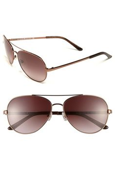 kate spade new york 'avaline' 58mm aviator sunglasses available at #Nordstrom