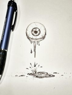 Eyeball sketch