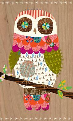 owl from Ecojot