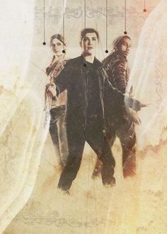 Percy Jackson, Annabeth Chase & Grover Underwood. My favourite trio!