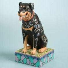 "Jim Shore Rottweiler ""Roddie"" Dog Figurines Jim Shore Heartwood Creek http://www.amazon.com/dp/B0012F4PXK/ref=cm_sw_r_pi_dp_nJx9tb0JEPP65"