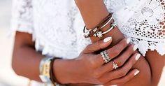 Mezcla tus metales! #PandoraRose y plata .925 para un look único y moderno! #UniqueAsWeAre #PandoraRINGS #StackedWithStyle #PandoraLasCatalinas