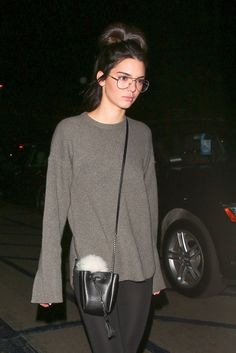 "kendallandkyliejennerstylelove: "" 24.10.15 - Kendall leaving ""WE CAN SURVIVE"" cncert in Hollywood Bowl """