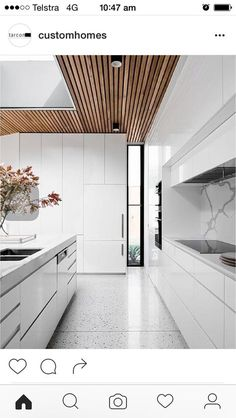 Like the slatted ceiling. Like handless draws. Like the long window letting light in