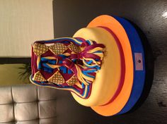 Bolso wayuu ( colombian indian bag cake)