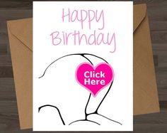 10 Best Naughty Birthday Cards - ILoveYourCock com images in 2015