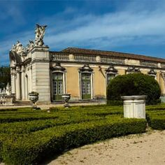 Panoramic 1/3 - Portugal - To see it full go to my profile @dotphotobr  The Queluz Palace and its gardens is one of the best examples of Portuguese architecture from the end of the 19th century. XVIII. It was built by Pedro III husband of Queen Maria I (1734-1816) and used as royal residence. It was enriched with an important museum of decorative arts whose collections belonged for the most part to the royal family and are exposed in their own context. Many of its rooms have rocaille decor…