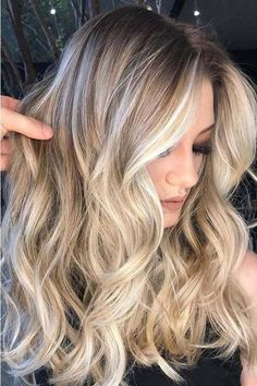 New Hair Color Balayage Blonde Ombre Haircolor Ideas Babylights Hair, Balayage Blond, Hair Color Balayage, Hair Highlights, Balayage Caramel, Color Highlights, Haircolor, Babylights Blonde, Summer Highlights