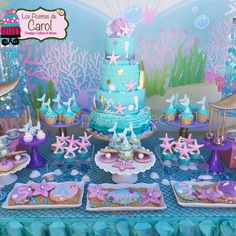 Mermaids Birthday Party Ideas | Photo 1 of 7