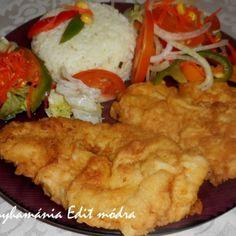Tejfölben pácolt csirkemell tepsis reszelt krumplival | Nosalty Meat, Chicken, Food, Essen, Meals, Yemek, Eten, Cubs