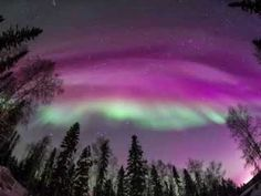 Aurora Borealis February 18, 2014 Fairbanks, Alaska - YouTube