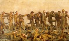 Gassed by John Singer Sargent, 1918-1919. Photograph: Alamy