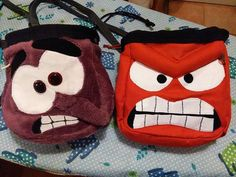 Inside out chalkbag - home made by LaSte