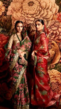 3540 Sabyasachi sarees: Rock the nine yards look with his 2019 collection Sabyasachi Sarees, Indian Sarees, Bollywood Saree, Bollywood Fashion, Silk Sarees, Indian Attire, Indian Ethnic Wear, India Fashion, Ethnic Fashion