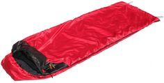 Snugpak Travelpak Traveler Right Side Zip Sleeping Bag, Red. Treatment discourages the growth of bacteria and results in a reduction of odors and the need for regular laundering. Built in roll-away mosquito netting that provides protection from insects and seals the sleeping bag when not in use. Inside zipped-pock to hold valuables. Low pack size and weight and comes with a compression stuff sack. Can be used as a blanket is there is no need for a sleeping bag.