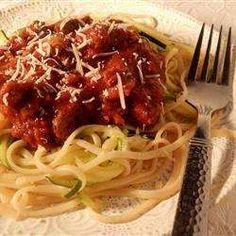 Sauce à spaghetti épicée