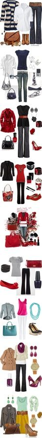 Workin 9-5 by riddlechick on Polyvore