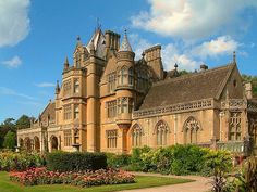 Ah, Home Sweet Home ..... I wish.  Tyntesfield House near Bristol by Anguskirk, via Flickr