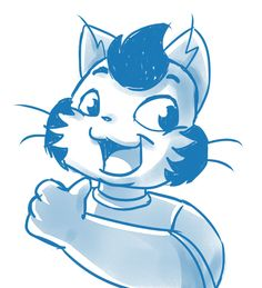 Charles Chaninho, o gato fofinho 😸 #sketchember #sketch #desenho #drawing #dibujo #cat #artsofinstagram
